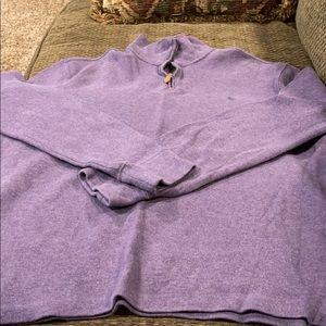 Men's 1/4 Zip Polo Sweater